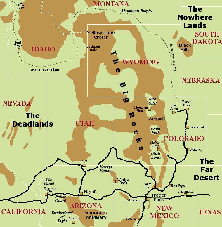 Deadlands California Map.Asmrb The Deadlands
